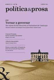 POLÍTICA & PROSA Nº 21-22 JULIOL-AGOST 2020