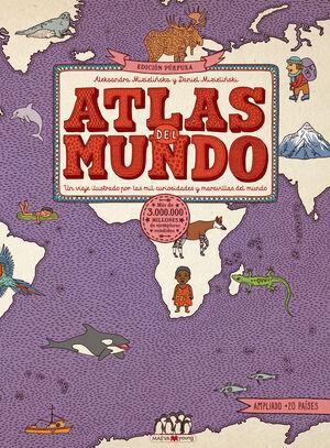 ATLAS DEL MUNDO PURPURA