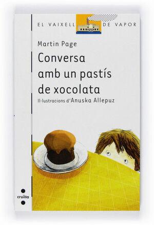 VVB CONVERSA AMB UN PASTIS DE XOCOLATA