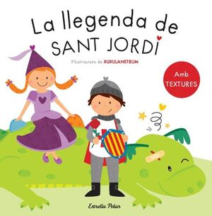 LA LLEGENDA DE SANT JORDI. AMB TEXTURES