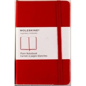PLAIN CLASSIC RED NOTEBOOK ROJO CUADERNO LISO