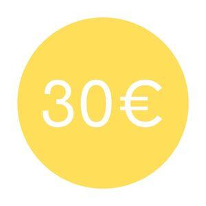 CHEQUE REGALO 30€